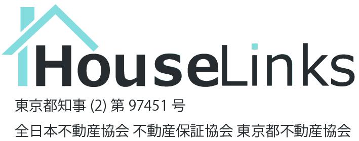 ハウスリンクス株式会社のロゴと免許番号等の画像